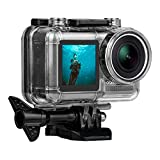 Waterproof Housing for DJI OSMO Action Camera, Protective Rotective Underwater Photography Hard Diving Case Cover for OSMO Sports Cam, Up to 131FT/40M