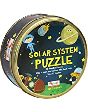 CocoMoco Kids Solar System Puzzle 30 Pcs Educational Toy - Space Puzzles for Kids Ages 2-6 Year Old Boys Girls, Return Gift Jigsaw Puzzles of Planets, Universe