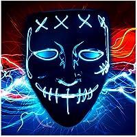 Jueying Halloween Scary Purge Costume Mask