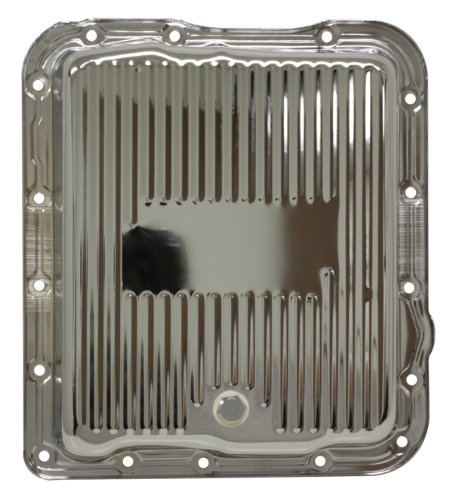 Chevy/GM 700R4-4L60E-4L65E Steel Transmission Pan - Chrome