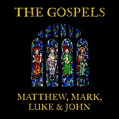 Alison Larkin Presents: The Gospel According to Matthew, Mark, Luke, and John cover art