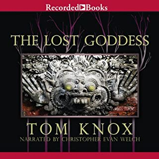 Lost Goddess audiobook cover art