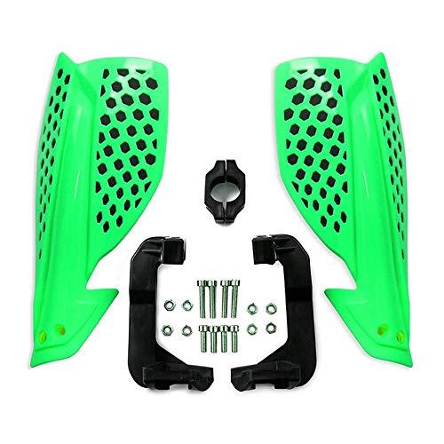 Fransande - Protector de guardamanos de moto para bicicleta todo terriano de bicicleta de salté con manillar de 22 mm, color verde