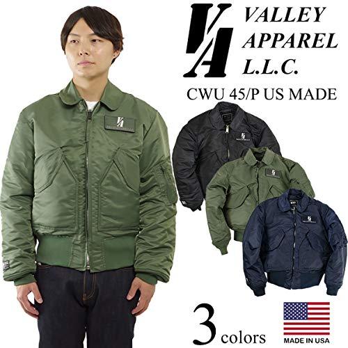 ValleyApparel(バレイアパレル)『CWU45/Pフライトジャケット』
