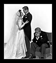 8 x 10 All Wood Framed Photo Tracy, Spencer Father Of The Bride And Liz Taylor