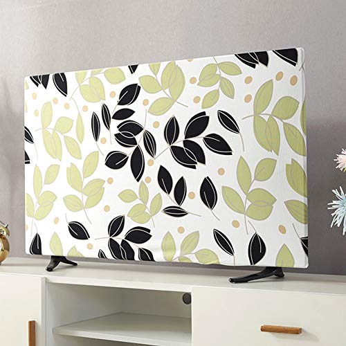 Dust cover, Elastic TV Cover Liquid Crystal Display Dust Cover Protective Case XIAOZHEN (Color : Green, Size : 24inch)