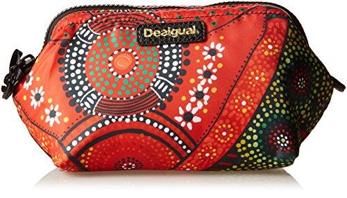 Desigual LIGERO LLUKA - Beauty Case Donna, Rosso (3074), 17x12x12 cm (B x H x T)