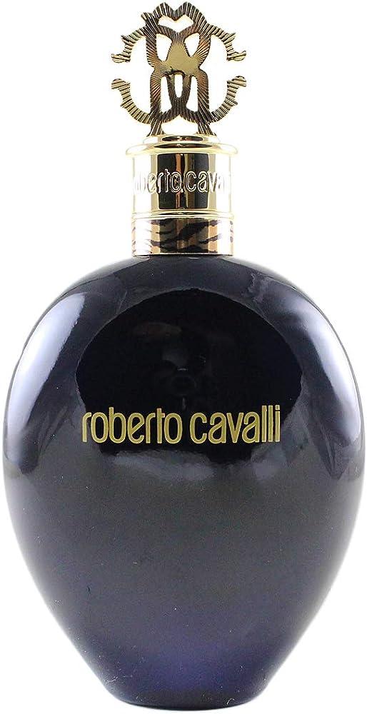 Roberto cavalli nero assoluto,  eau de parfum per donna,75ml 10014396