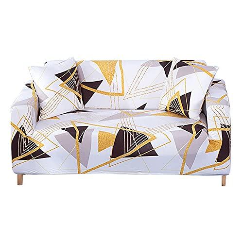 WXQY Necesita Comprar 2 Piezas de Funda de sofá elástica en Forma de L, Funda de sofá Universal para Todas Las Estaciones en la Sala de Estar A19 1 Plaza