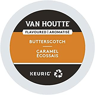 Van Houtte Butterscotch Recyclable K-Cup Coffee Pods, 12 Count For Keurig Coffee Makers