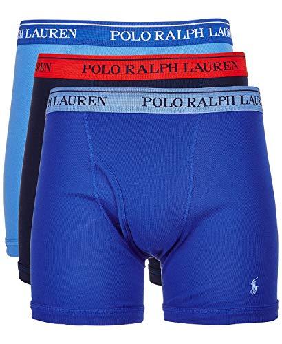 Polo Ralph Lauren Herren Boxershorts, klassische Passform, 3er-Pack -  mehrfarbig -  Medium