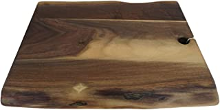 Mantables - Live Edge Soild Wood Cutting Board, American Handmade, Amish Made, Unique Gift, 100% Guarantee, Each Cutting Board is Unique, Large Cutting Board 8x12 in