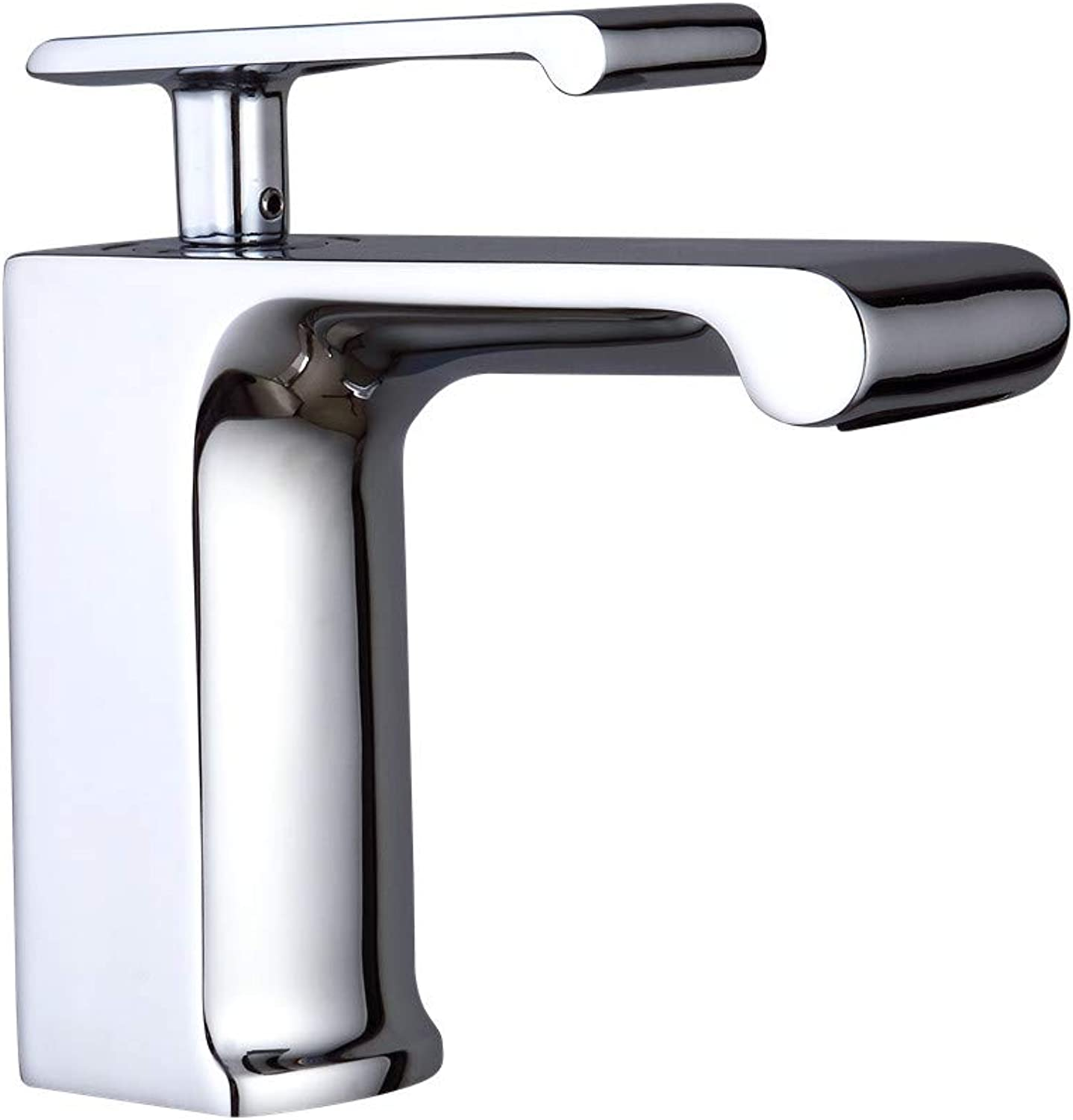 Wash Basin Mixer Tap Modern Bathroom Sink Faucet Single Lever Basin Sink Mixer Tap Brass With Chrome Finish