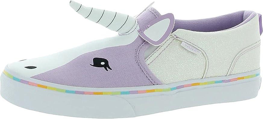 Vans Asher V Zapatillas de deporte con diseño de unicornio morado