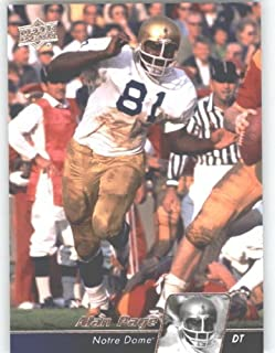 2011 Upper Deck Football Trading Card #11 Alan Page - Notre Dame Fighting Irish - Minnesota Vikings - NFL Legend