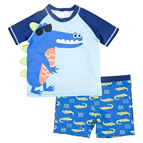 VICROAD Conjunto de baño de Chaleco y Pantalones Cortos para niños de 3 a 8 años