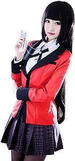 Jabami Yumeko Costume Anime Cosplay Full Set School Uniform for Kakegurui Compulsive Gambler