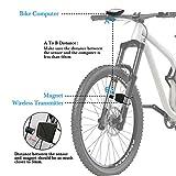 Zoom IMG-2 computer di bicicletta contachilometri wireless