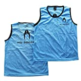HO Soccer Petos-Team (Packs de 12 Unidades) -Blue Entrenamiento De Fútbol, Unisex Adulto, Azul, M
