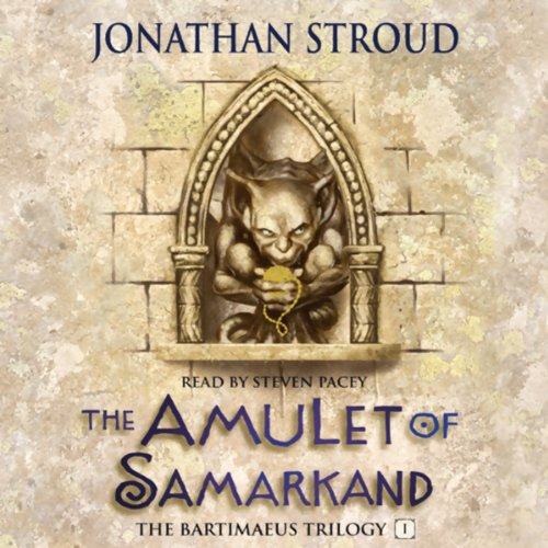 The Amulet of Samarkand audiobook cover art
