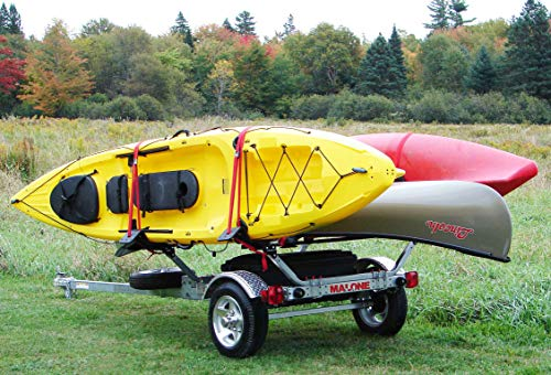 Malone MicroSport Sports Trailer for Kayaks, Canoes and Bikes