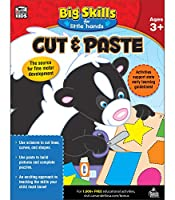 Cut & Paste, Ages 3+ (Big Skills for Little Hands)