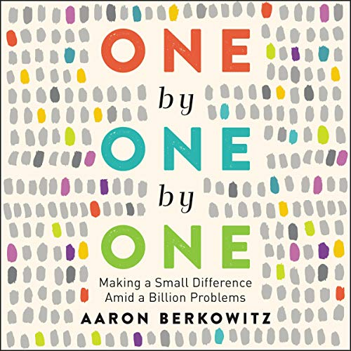 One by One by One audiobook cover art