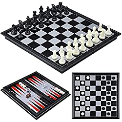 Magnetic chess, checkers and backgammon travel game set for travel | Indigo Sahara | Travel & Lifestyle Blog