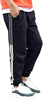 Bambine e Ragazzi Pantaloni Sportivi - Cotone Striscia Pantaloni da Jogging Casual Vita Elasticizzata Street Wear Lungo Pa...