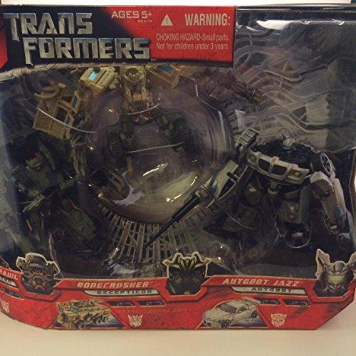 Transformers Movie 3 Pack, Autobot Jazz, Bonecrusher, Deception Brawl by Transformers