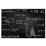 KIMDFACE Rompecabezas Puzzle 1000 Piezas,Pizarra Monocromática Conocimiento Matemáticas Gráfico Números Ciencia Ecuación,Puzzle Educa Inteligencia Jigsaw Puzzles para Niños Adultos