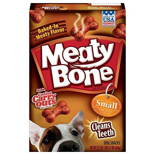 Meaty Bone Small Dog Snacks, 22.5 Oz (Pack Of 6)