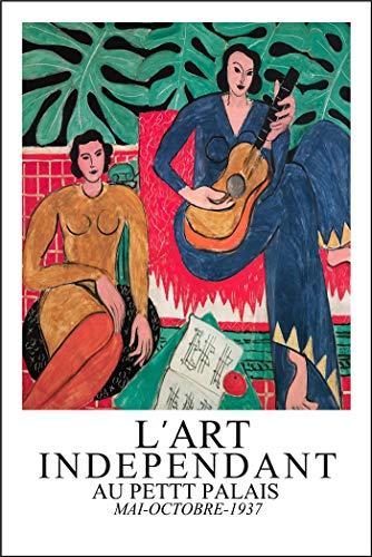 Póster de arte abstracto de Matisse, pintura de lienzo nórdica, decoración de arte abstracto para pared, pintura de lienzo sin marco para el hogar D 60x80cm
