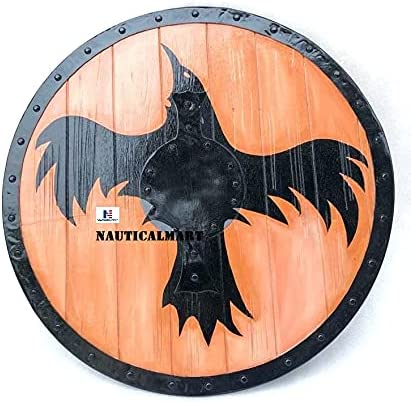 Nautical-Mart Special sale item Viking Shield Raven Oden's Great interest