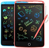 2 Pack LCD Writing Tablet - Colorful Screen Drawing Board 8.5inch Doodle Scribbler Pad Learning Educational Toy - Gift...