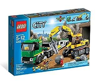 LEGO City 4203 - Grubenbagger mit Transporter (B007456TMW) | Amazon price tracker / tracking, Amazon price history charts, Amazon price watches, Amazon price drop alerts