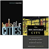 Invisible Cities By Italo Calvino & The 99% Invisible City By Roman Mars, Kurt Kohlstedt 2 Books Collection Set