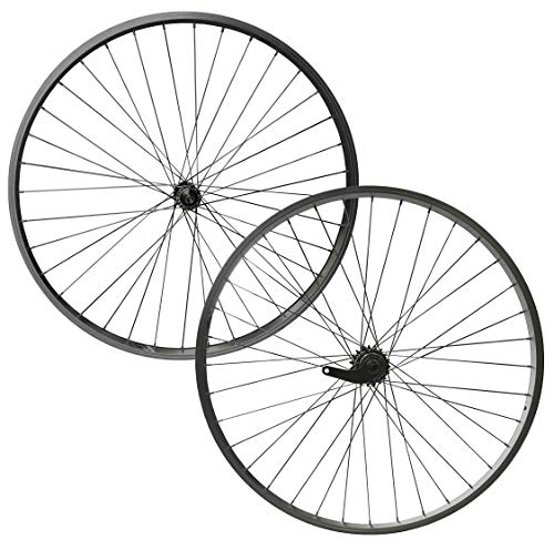XB3 Laufradsatz 28 Zoll Vorderrad und Hinterrad mit Rücktrittbremse, 1 Gang, Alu, Kastenfelge