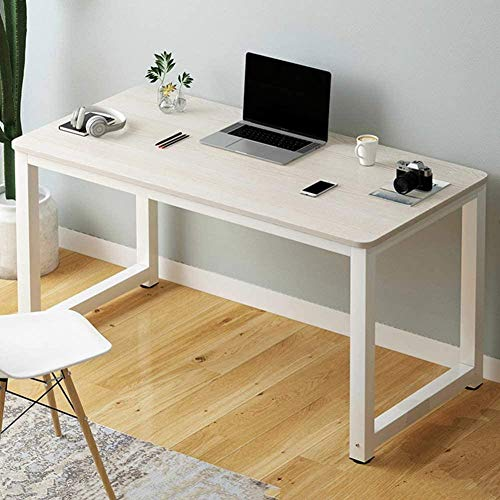 Escritorio de computadora Escritorio de estudio de oficina Computadora PC Mesa de computadora portátil Estación de trabajo Mesa de juegos para la oficina en casa Un pino azul-B Color madera de cerezo
