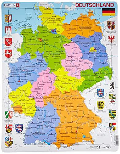 Larsen K21 Deutschland (politisch) Puzzle 48 Teile