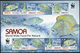 """PHILAIMPEX , WWF FOR A LIVING PLANET, ON FISH OF SAMOA , MINT SHEETLET Rarest of rare item for your COLLECTION Just click on """"PHILAIMPEX"""" above and see my other listing All of my buyer's will get support over phone related to Philately and Numismatic..."""