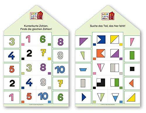 Logo Lernhaus: Kartenset Vorschulwissen