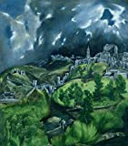 Kunstdruck/Poster: EL Greco View of Toledo c 1597-99