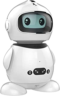 Kidmate is an Intelligent robot which help to develop the kids' early learning abilities. It has the ability to interact and teach the kids' basic math & english , logic & test their cognitive skills.
