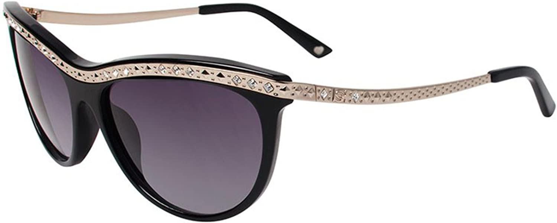 Bebe Sunglasses BB7099 001 Jet 57MM