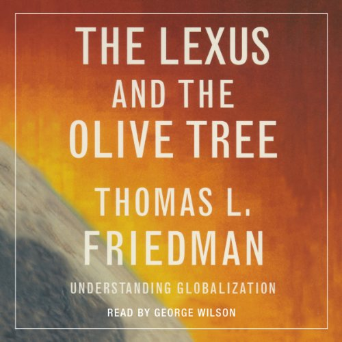 The Lexus and the Olive Tree audiobook cover art