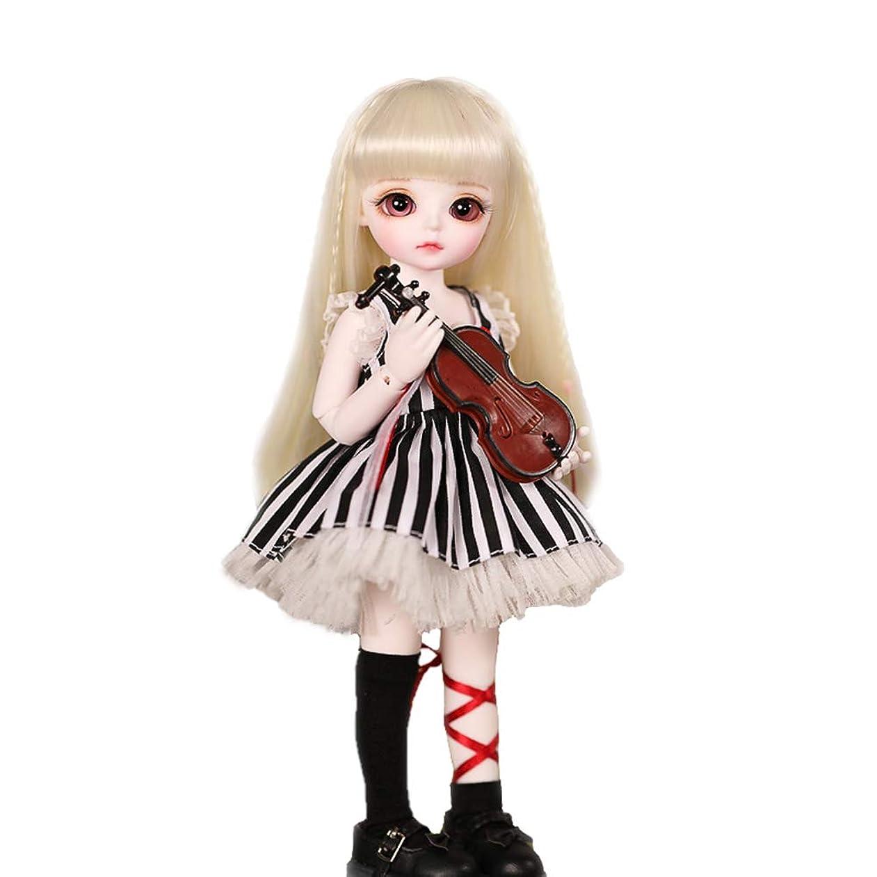 速報イヤホン攻撃的関節人形のおもちゃ1/6 BJD人形26Cm SD人形の球体関節人形と服靴ウィッグ化粧ギフトクリスマスに適した女の子
