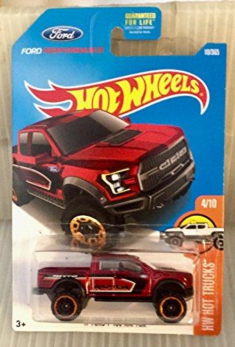 Hot Wheels, 2017 HW Hot Trucks, '17 Ford F-150 Raptor [Maroon] 10/365