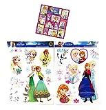 Die Eiskönigin 19 Mega Aufkleber Sticker - Frozen fürs Fahrrad / Fensterbilder / Wandtattoo / Wandsticker / Autoaufkleber / Kinder Sticker + 12 Frozen Sticker