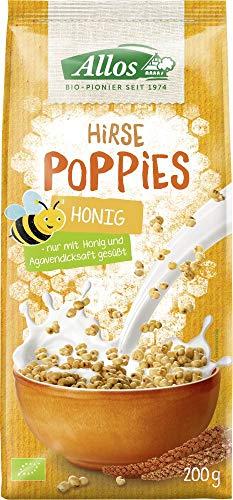Allos Bio Hirse-Honig-Poppies (6 x 200 gr)
